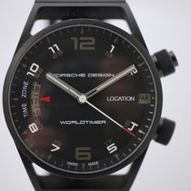 Porsche Design pre-owned Automatic 45mm Black Sapphire Glass 10 ATM