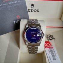 Tudor Prince Date + Day blue dial - warranty