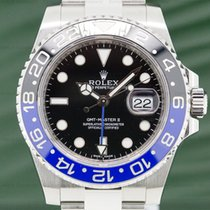 "劳力士  116710BLNR GMT Master II Ceramic Black & Blue ""Batman"" SS..."