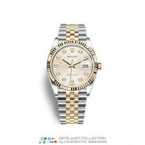 Rolex Gold/Steel 36mm Automatic M126233-0027 new
