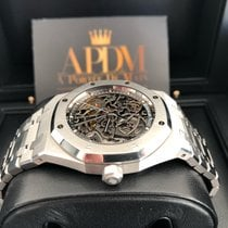 Audemars Piguet Royal Oak Selfwinding Otel 39mm Transparent Fara cifre