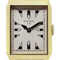 Cyma Oro giallo Argento Senza numeri 35mm nuovo