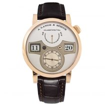 A. Lange & Söhne Rose gold Manual winding Silver new Zeitwerk