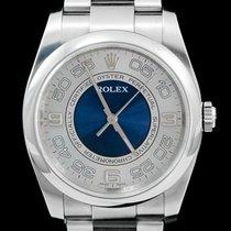 Rolex Oyster Perpetual 36 Staal 36mm Grijs Arabisch
