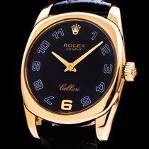 Rolex Cellini Danaos gebraucht 25mm Gelbgold