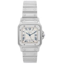 Cartier Santos Galbée Steel 28mm Champagne Roman numerals United States of America, Texas, Dallas