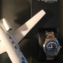 Alpina Startimer Pilot Manufacture Steel 44mm Black