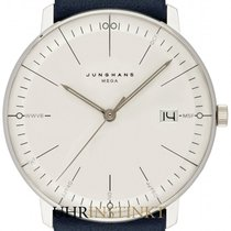 Junghans Steel 38mm Quartz 058/4822.00 new