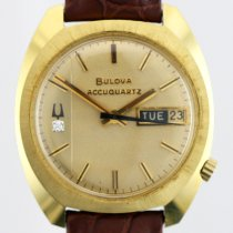 Bulova Yellow gold 35mm Quartz pre-owned