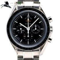 Omega Speedmaster Professional Moonwatch Stahl 40mm Schwarz