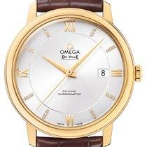 Omega De Ville Prestige 424.53.40.20.52.001 Nuevo Oro amarillo 39.5mm Automático