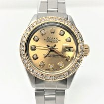 Rolex Oyster Perpetual Lady Date Steel 26mm Champagne No numerals United States of America, California, Sylmar