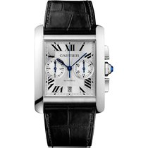 Cartier new Automatic 34.3mm Steel Sapphire crystal