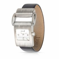 Piaget Protocole White gold 17mm Silver United States of America, New York, New York