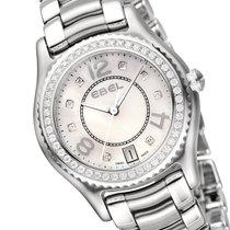 Ebel X-1 Diamonds Damenuhr 1216110 Edelstahl Diamanten perlmutt