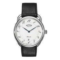Hermès Arceau Automatic TGM 41mm Mens Watch Ref AR7.710.220/VBN