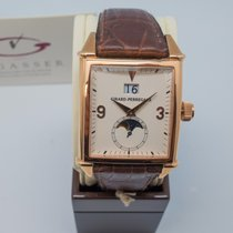 Girard Perregaux Or rose Remontage automatique Arabes 32mm nouveau Vintage 1945
