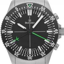Damasko DC80 Grün Stahl Automatik Chronograph Armband Stahl...