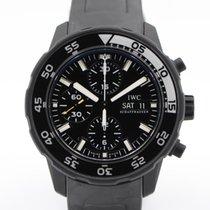 IWC Aquatimer Chronograph Otel 44mm Negru Fara cifre