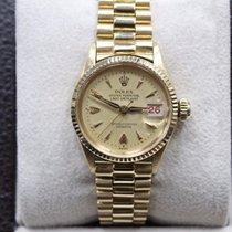 Rolex Ladies President Datejust 6517 18k Yellow Gold