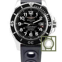 Breitling Superocean II 42 MM Automatic Black Dial Black...