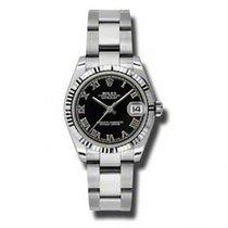 Rolex Lady-Datejust Steel 31mm Black Roman numerals United States of America, Pennsylvania, Holland