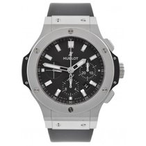 Hublot 44mm Automatic 2017 pre-owned Big Bang 44 mm Black