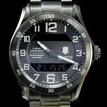 Victorinox Swiss Army 45mm Quartz 2011 tweedehands Chrono Classic Grijs