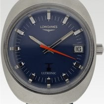 Longines Ultronic Steel 37mm Blue