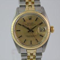 Rolex Datejust Medium 6827 #1013 Unisex Gold / Stahl
