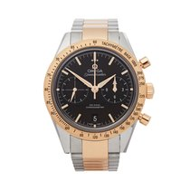 Omega Speedmaster '57 Guld/Stål 41.5mm Sort