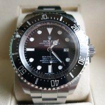 Rolex Sea-Dweller Deepsea Stahl 44mm Schwarz Keine Ziffern Schweiz, Genève