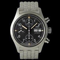 IWC Pilot Chronograph Aço 39mm Preto