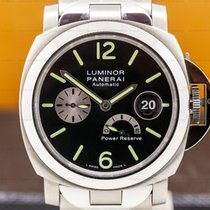 Panerai Luminor Power Reserve Titanium 44mm Black Arabic numerals