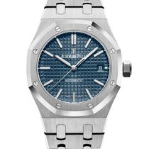 Audemars Piguet Royal Oak Selfwinding Steel 37mm Blue No numerals