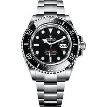 Rolex Sea-Dweller 4000 Steel 43mm Black No numerals United States of America, Iowa, Des Moines