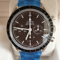 Omega Steel Manual winding Brown No numerals 42mm new Speedmaster Professional Moonwatch