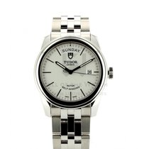 Tudor Glamour Date-Day Steel 39mm White