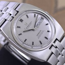 Omega Constellation Day-Date Staal 35,9mm Zilver
