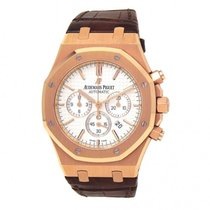 Audemars Piguet 26320OR.OO.D088CR.01 Rose gold Royal Oak Chronograph 41mm pre-owned United States of America, New York, New York