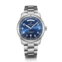 Breitling Steel 41mm Automatic A45330101C1A1 new