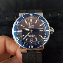 Oris Divers pre-owned 44mm Bronze Date Rubber