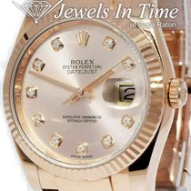 Rolex Rose gold Automatic Pink 36mm Datejust