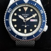 Seiko 5 Sports Steel 42.5mm Blue United States of America, Washington, Kirkland
