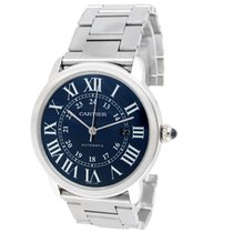 Cartier Ronde Croisière de Cartier Steel 42mm Blue Roman numerals United States of America, California, Los Angeles