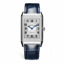 Jaeger-LeCoultre Reverso Classic Medium Duetto Steel 40.1mm Silver