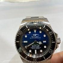 Rolex Sea-Dweller Deepsea używany 44mm Niebieski Data Stal