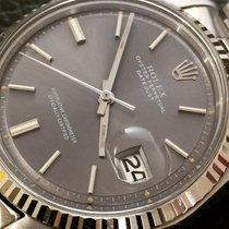Rolex Datejust steel white gold Bezel ref.1601