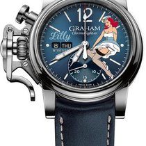 Graham Chronofighter Vintage Noseart Ltd.  (Lilly)