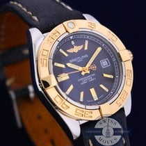 Breitling Galactic 32 Ladies Steel Gold Watch